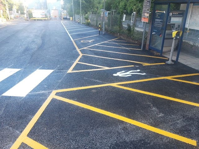 Work to deliver car park improvements for passengers reaches the half way point: Car park renewals 5