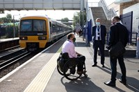 Paralympian Andy Barrow chairs new panel to improve rail journeys for everyone: ATAP 05082021-024