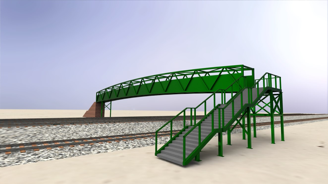 £1.2m Paisley bridge works will preserve community link: Render 0001
