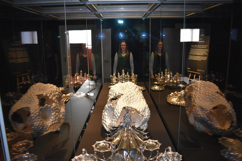 Sparkling silver service at Temple Newsam's spectacular new display: silvershowstoppers032.jpg