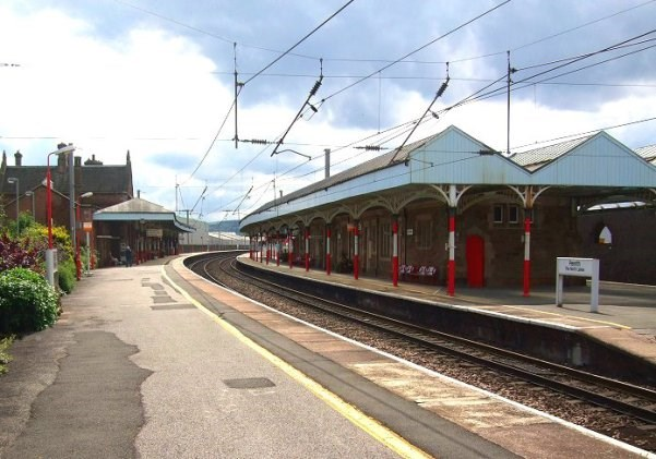 Work starts to make Penrith railway station accessible for all: Penrith Station platforms