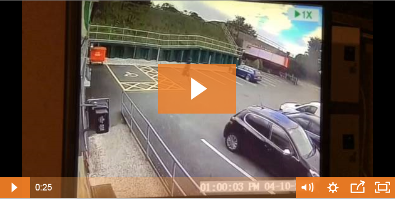 Lorry bridge smash video prompts call to 'wise up, size up': Tarporley bridge strike