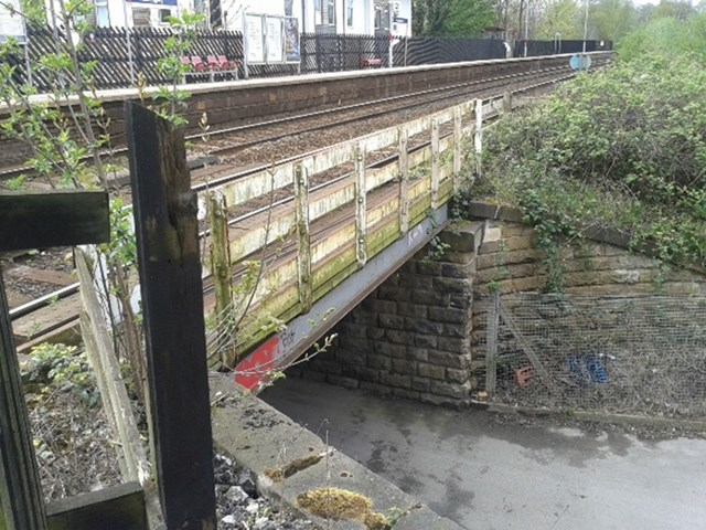 The railway bridge at Kirkstall Lane in Headingley is to be upgraded