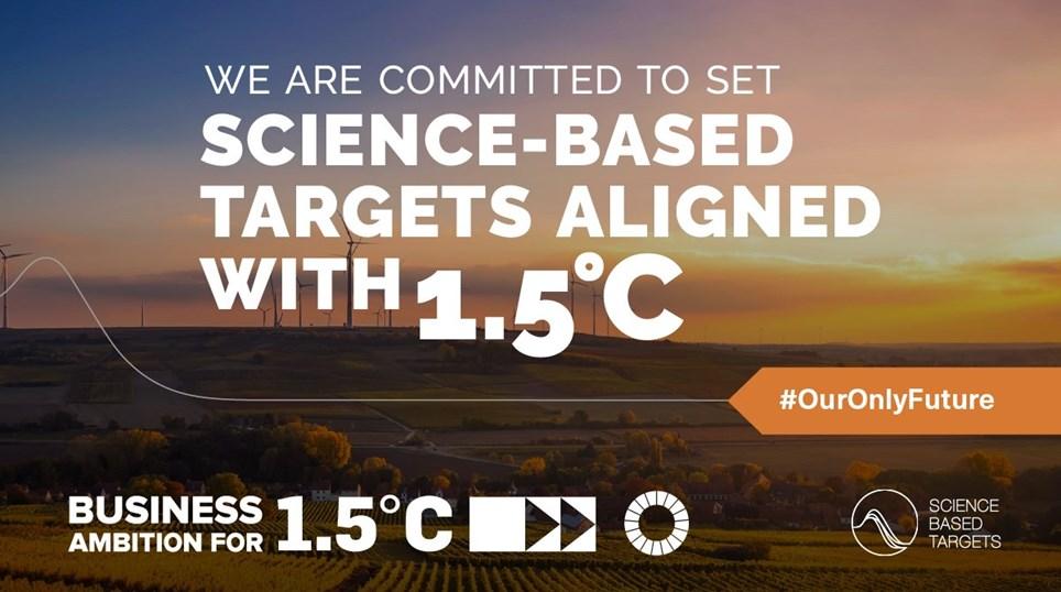 Science based target