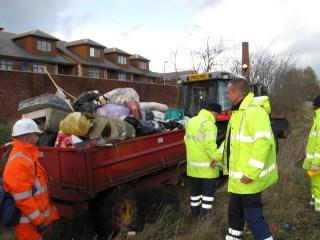 Deepdale clean-up