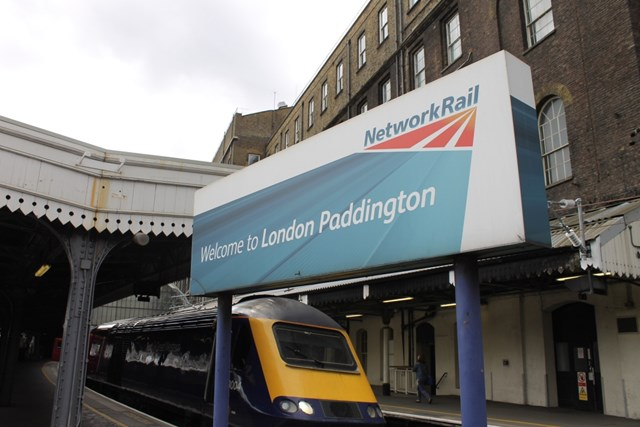 Paddington Station 24/7 – Trains put on hold as man runs a mile along track after ducking ticket gates: Padd welcome HST