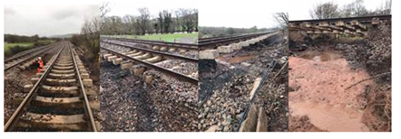 URGENT RAIL UPDATE – 7am Monday 17 February: Rail customers should expect significant service delays and cancellations with lines closed due to flooding: Marches line 16-02-20