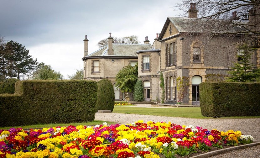New eco-friendly biomass boiler at historic country house : lotherton.jpg