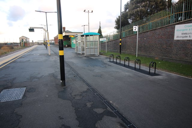 Abergele and Pensarn station enhancement works completed 1