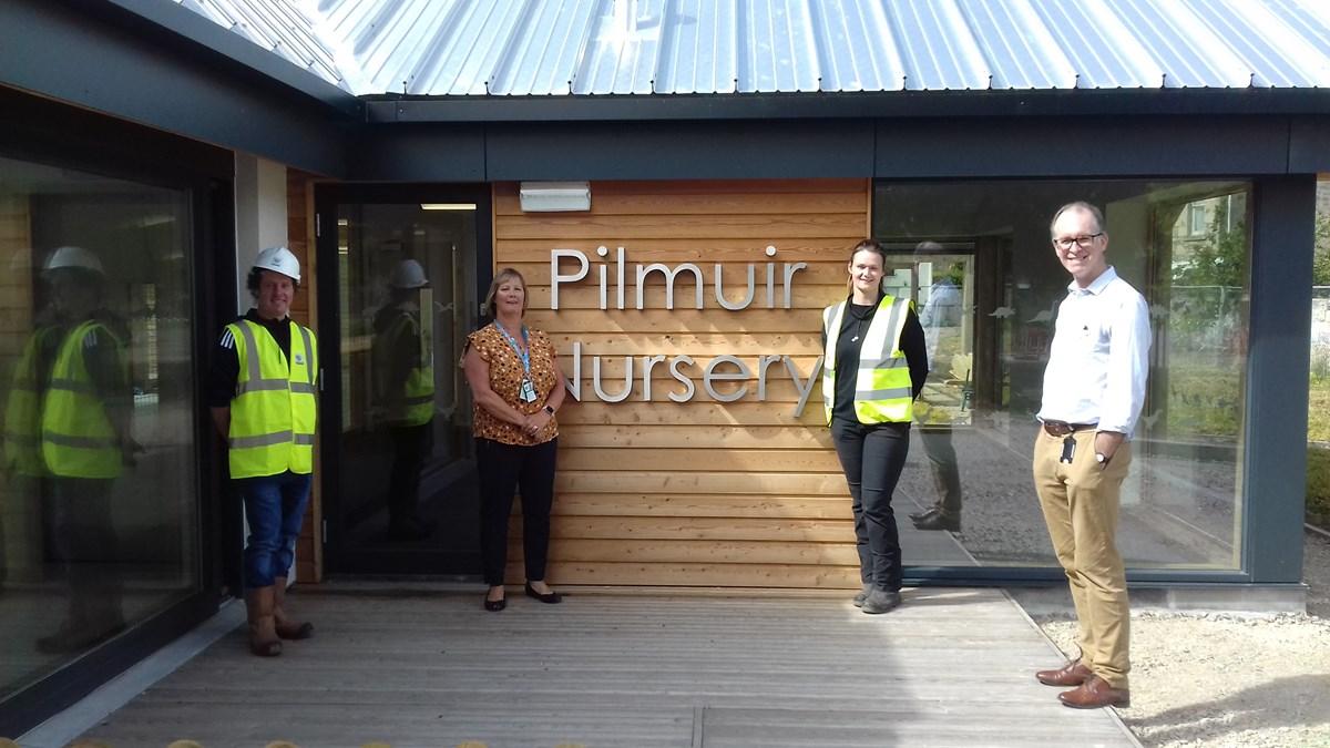 New Pilmuir Nursery handover