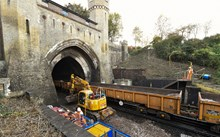 Brighton Mainline Upgrade Clayton Tunnel Oct 18 (9)