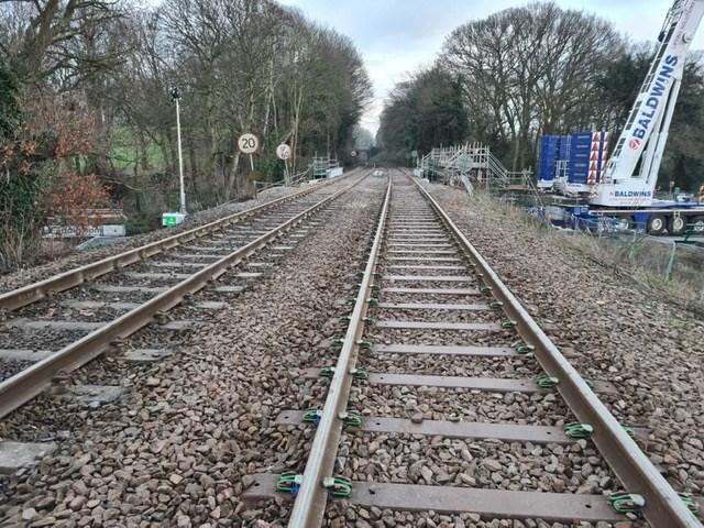 Postwick track view
