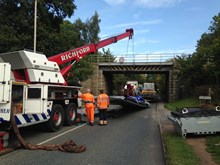 New campaign urges drivers in the East Midlands to be vigilant following bridge bashes 3