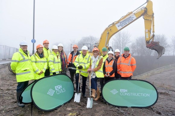 Second phase of work on Gypsey Race Park gets underway: Gypsey Race Park Phase 2