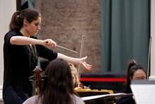 Delyana Lazarova winner of the Siemens Halle Conductor Competition