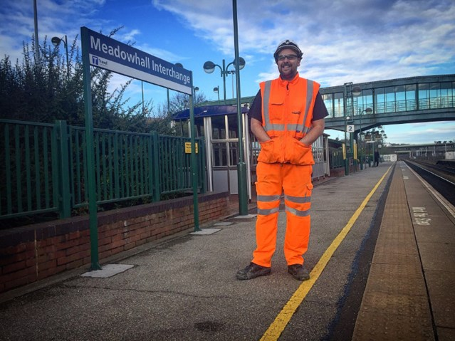 Doncaster man to appear in new Channel 5 documentary series: Jamie Morgan, a mobile operations manager for Network Rail.