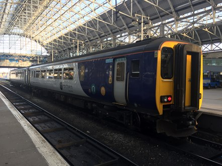 Plan ahead for this weekend's timetable change: Train at Piccadilly