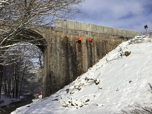 Stonehaven-Montrose bridgeworks