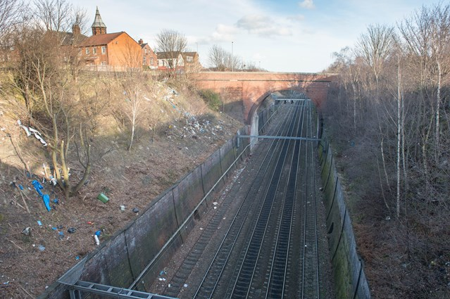 Network Rail to carry out major clean up of railway in Richmond Hill: Network Rail to clean up railway in Richmond Hill-2