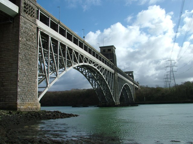 RAIL IMPROVEMENT FOR BRITANNIA BRIDGE: Britannia bridge