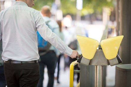 Contactless journeys pass the million mark: Contactless Metrolink
