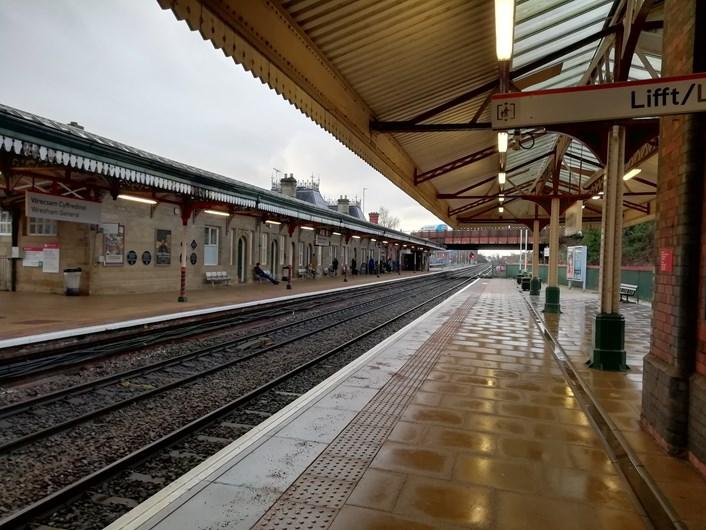 Wrexham General platform