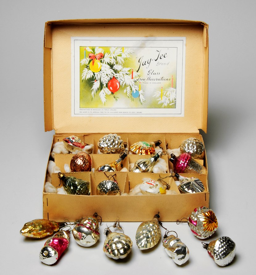 Object of the week- Leeds made Christmas baubles: baubles.jpg