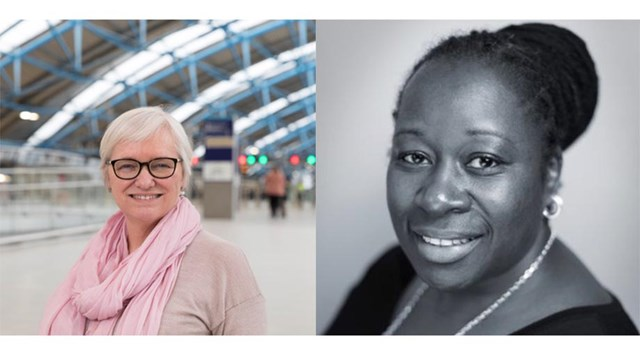 Network Rail leaders make Financial Times list of influential females in engineering: Bridget Rosewell CBE and Loraine Martins MBE