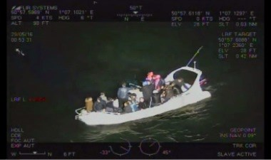 Crime network planned to use boats and jet ski to smuggle migrants to UK: Sugate Rescue 380x225