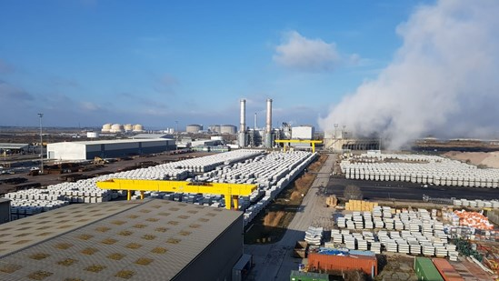 PACADAR UK site in the Isle of Grain: PACADAR UK have been awarded a contract to manufacture the pre-cast tunnel segments for the HS2 Northolt Tunnels West  Tags: Supply Chain, Contract Award, Tunnels, London Tunnels