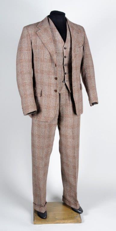 Suit tribute is made to measure for Wool Week: demobsuit.jpg