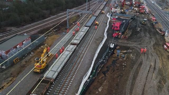 Tracks at Werrington