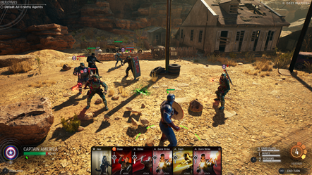 Marvel s Midnight Suns - Combat - Surrounded!