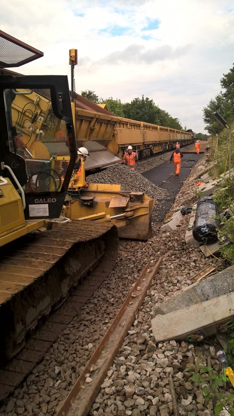 22 July K to C track renewals