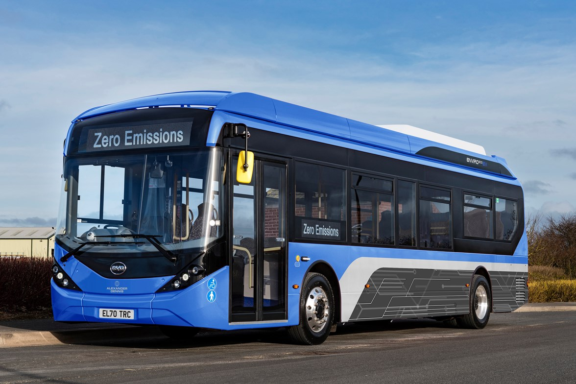 BYD ADL Enviro200EV - a model of electric bus from ADL which will be ordered through SULEBS