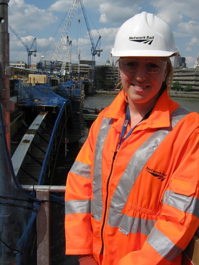 Liz Wilson, Network Rail project manager, Blackfriars 2