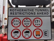 Various restrictions in place at Rotherhithe Tunnel