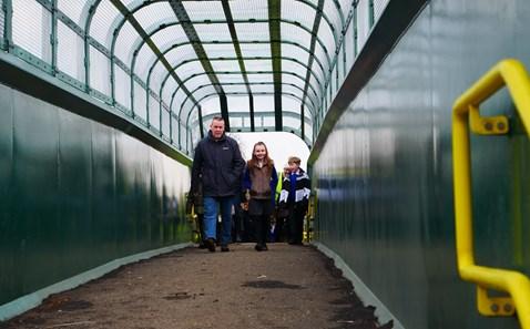 Dean farm on the bridge