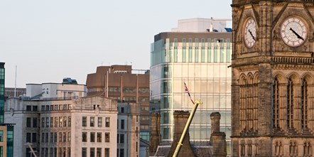 Manchester city centre general image