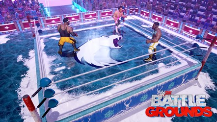 WWE 2K BG WINTER BEAR ARENA
