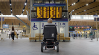 Have a little patience: Southeastern launches video to encourage customers to be more mindful and considerate of fellow passengers with accessibility requirements: Southeastern Patience Campaign, wheelchair-2