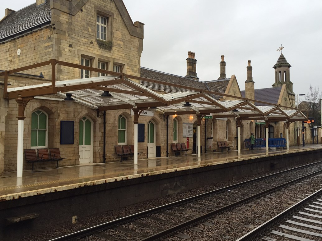 renovation work to stamford station nears completion