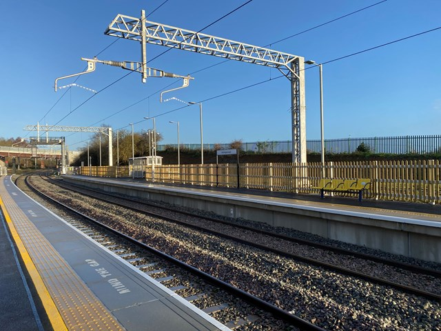 New line and platform promise improved services for passengers on Midland Main Line 2