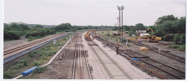 East Midlands Resignalling: Track Improvements at Stanton Gate (North Erewash)