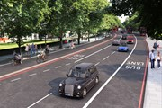 TfL Image - CGI of Cycleway 4 on Jamaica Road 2 - copyright Transport for London