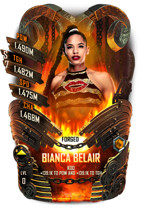 WWESC S7 Bianca Belair Forged