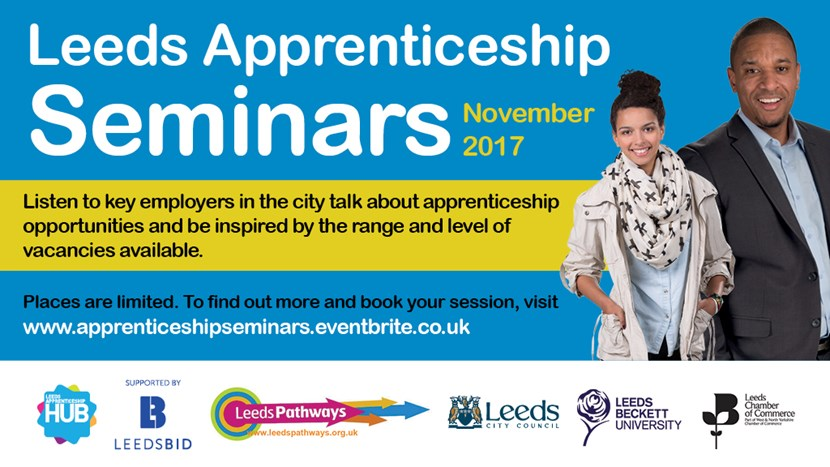 Yorkshire's largest apprenticeship fair will return to the city again in 2018: 6892leedsapprenticeshiphubseminars2017-bigscreen.jpg