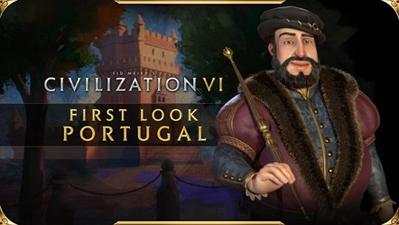 Civilization VI - New Frontier Pass - Portugal Pack - Joao III First Look Thumbnail
