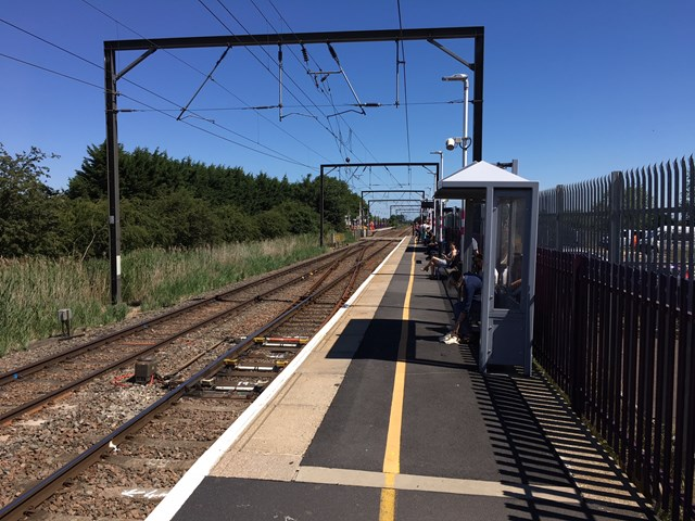 Community events to learn more about the work to deliver longer trains between King's Lynn to Cambridge: Waterbeach station