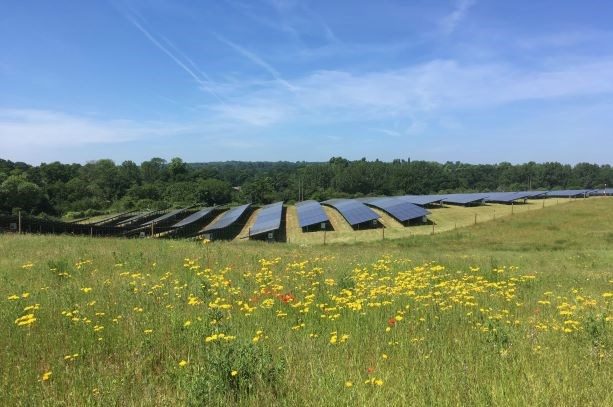 Have your say on the Council's Climate Change Strategy: Southill solar farm web